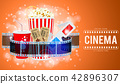 Cinema and Movie Banner 42896307