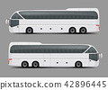 Private charter tour or coach bus realistic  42896445