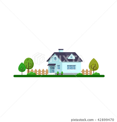 Family house landscape 42899470