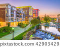 Greenville, South Carolina, USA Cityscape 42903429