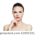 Spa woman isolated on white background 42905591