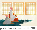 Vector - Buddha's Birthday illustration 018 42907903
