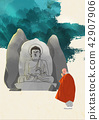Vector - Buddha's Birthday illustration 013 42907906