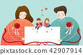 Vector - illustration for thanked the teachers and the parents for their hard work 001 42907914