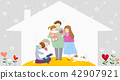 Vector - illustration for thanked the teachers and the parents for their hard work 006 42907921