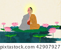 Vector - Buddha's Birthday illustration 005 42907927
