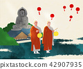 Vector - Buddha's Birthday illustration 007 42907935