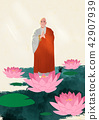 Vector - Buddha's Birthday illustration 004 42907939