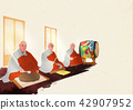 Vector - Buddha's Birthday illustration 001 42907952