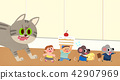Vector - Children's dreams of a fairytale land, they living in a fairy story illustration 013 42907969