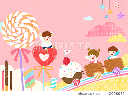 Vector - illustration related to creativity of early childhood and infant education vector illustration 011 42908022