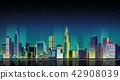 建築 市中心 照明 42908039