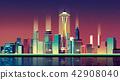 建築 市中心 照明 42908040