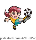 Vector - music and physical education vector cartoon Illustration 022 42908057