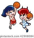 Vector - music and physical education vector cartoon Illustration 005 42908084