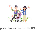 Vector - May is Family Month. vector illustration. 010 42908099