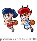 Vector - music and physical education vector cartoon Illustration 004 42908100