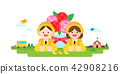 Vector - Korea's National Memorial Days. the anniversary of Korean memorial holidays such as Children's Day, Independence Day, Buddha's birthday and so on. 001 42908216