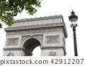 개선문, 파리, 프랑스 42912207