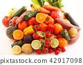 야채, 채소, 과일 42917098