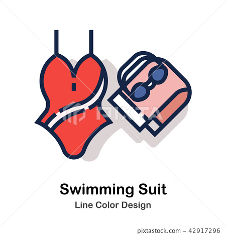 Swimming suit Line Color  42917296