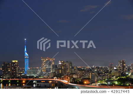 福冈市夜景 42917445
