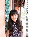 亞洲台灣台中霧峰林家花園古厝攝影女性女人人像人物肖像 42919951