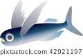 vector, vectors, flying fish 42921197
