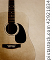 Background - Paper - Acoustic Guitar 42921834