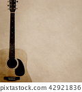 Background - Paper - Acoustic Guitar 42921836
