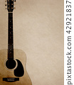Background - Paper - Acoustic Guitar 42921837