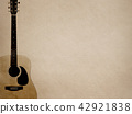Background - Paper - Acoustic Guitar 42921838