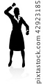 People Business Silhouettes 42923185