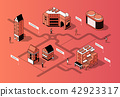 vector, 3d, isometric 42923317