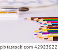 Group of multicolor pencils  42923922