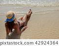 summer woman hat 42924364