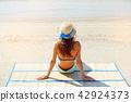 summer woman hat 42924373
