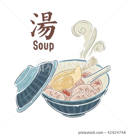 鸡汤,食物插图 42924748