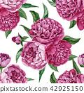 pattern, watercolor, seamless 42925150