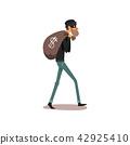 bag, sack, thief 42925410