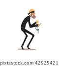 thief, robber, key 42925421
