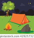 camp background vector design 42925732