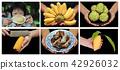Thailand popular fruit as served 42926032