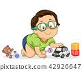 kid boy playing 42926647