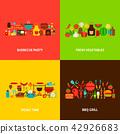 barbecue, bbq, design 42926683