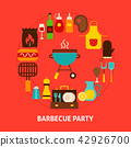 Barbecue Party Postcard 42926700