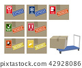 cardboard, a box, box 42928086