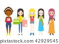 外國旅遊女人 42929545