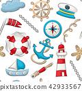 marine, nautical, pattern 42933567