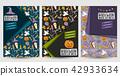 halloween, poster, flyer 42933634